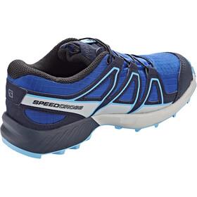 Salomon Speedcross CSWP Chaussures Enfant, surf the web/navy blazer/ethereal blue